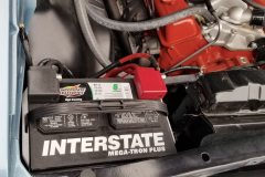 Quality audio-grade battery terminals and upgraded wiring underhood