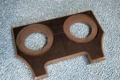 Custom fabbed speaker ring