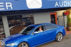 Dave and his Audi S4 for JL Audio Bass