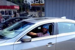 Ty and his 2014 Acura for bass
