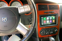 Dodge Charger after w/Apple CarPlay