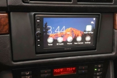 BMW 5 Series with Apple CarPlay after
